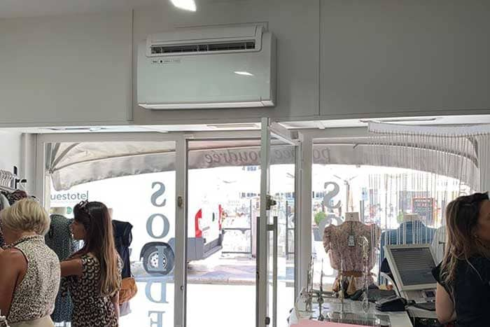 Climatisation magasin
